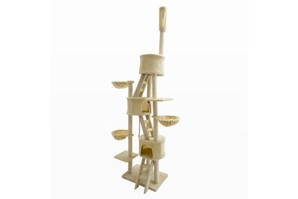 Cat Tree Scratcher PARADISE 260cm - BEIGE