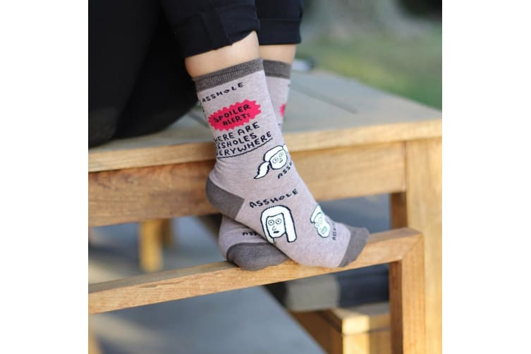 Spoiler Alert: There Are Assholes Everywhere Women`s Socks