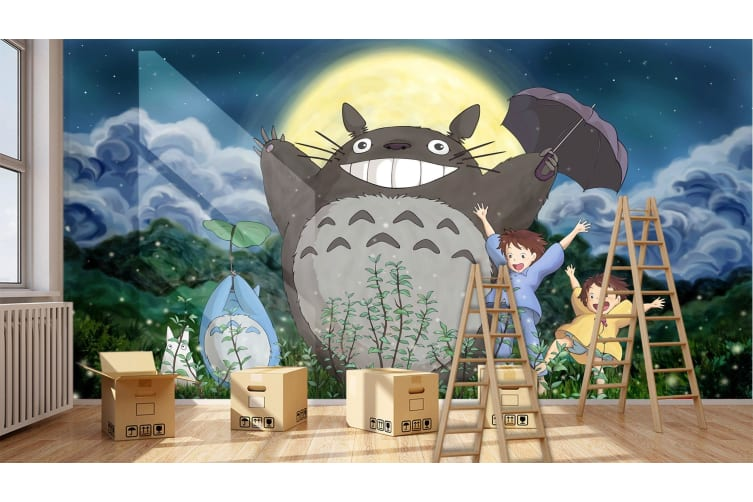 3D Fat Tortoise 36 Anime Wall Murals Woven paper (need glue), XL 208cm x 146cm (WxH)(82''x58'')