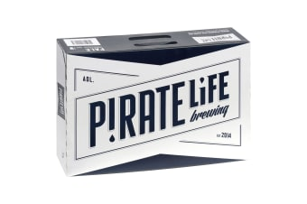 Pirate Life Pale Ale Beer  24 x 355mL Cans