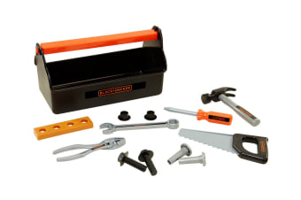 Black & Decker 14 Piece Toy Tool Box