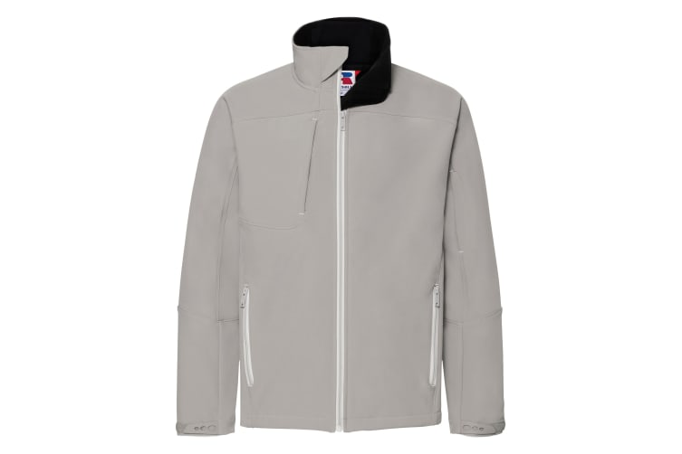 Russell Mens Bionic Softshell Jacket (Stone) (S)