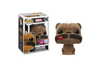 Inhumans Lockjaw Flocked NYCC 2017 US Exclusive Pop! Vinyl