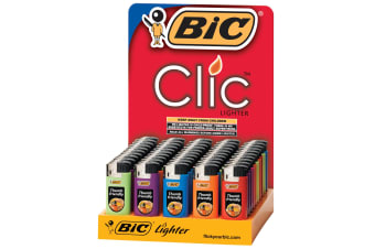 BIC LIGHTER BIC MINI ELECTRONIC (J39) WITH CHILD GUARD BX50