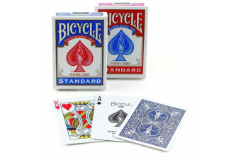 Bicycle Card Decks US Standard Playing Cards Red or Blue Made In USA - NEW