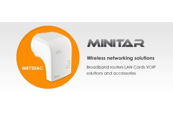Billion Minitar Wireless AC Repeater AP Router - Supports