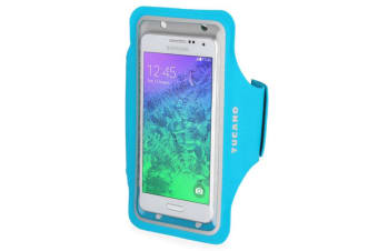 "Tucano Sporty Universal Arm Band Smartphone Case Up to 5"" - Blue"