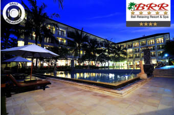 BALI: 5 or 7 Nights at Bali Relaxing Resort & Spa for Two