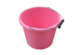 ProStable Water Bucket (Pink) (3 Gallons)