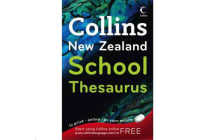 Collins Thesaurus New Zealand School