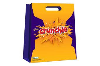 13pc Cadbury Crunchie Kids Chocolate Showbag w/Dairy Milk Chocolate/Playing Card