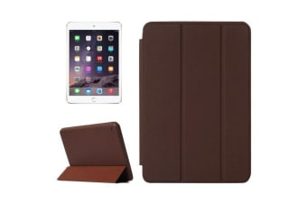 For iPad Mini 4 Case Smart High-Quality Durable Shielding Cover Brown