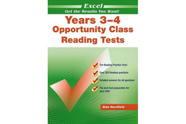 Excel Opportunity Class English Tests - Year 4