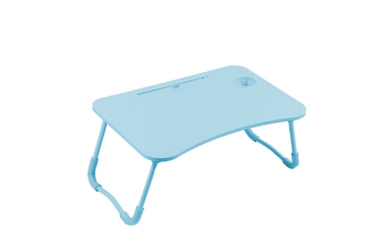 Select Mall Laptop Desk Laptop Bed Tray Table Large Foldable Laptop Notebook Stand Desk with Ipad and Cup Holder Perfect-3