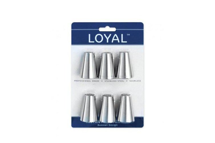 Loyal Russian Instant Flower Tip Set of 6