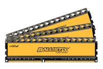 Crucial 8GB Kit (4GBx2) DDR3 1600 MT/s (PC3-12800) CL8 @1.5V Ballistix Tactical UDIMM 240pin