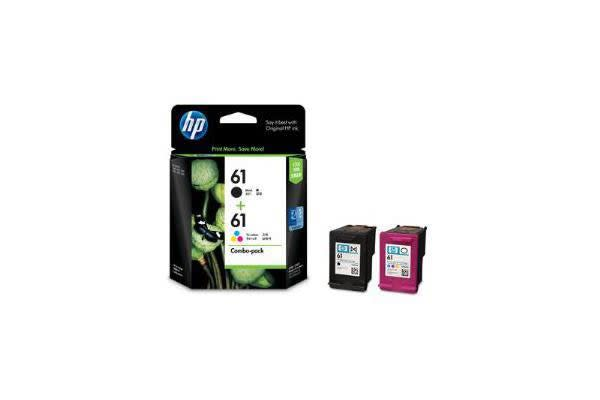 HP 61 BLACK/TRI-COLOR COMBO-PACK INK CARTRIDGES CR311AA
