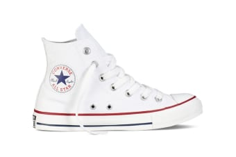 Converse Chuck Taylor All Star Hi (Optical White, US Mens 9 / US Womens 11)