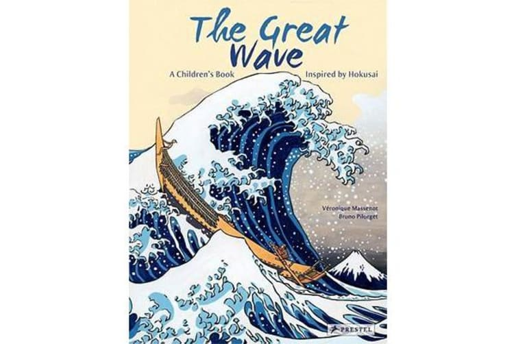 The Great Wave - A Children's Book Inspired by Hokusai