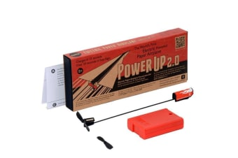 PowerUp 2.0   Electric Paper Airplane Conversion Kit Propeller Gilder Power Up