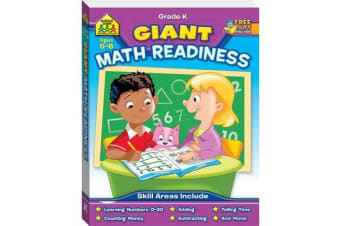 School Zone Giant Maths Readiness Workbook