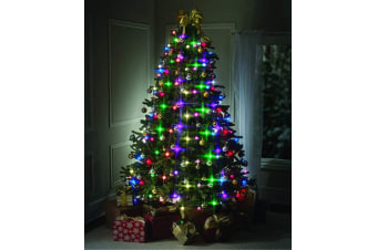 LED Christmas Lights by BulbHead, Color Changing LED Light for The Christmas Tree, 64 Globe Lights