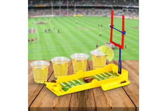 Tackle Shots Travel Drinking Game – Football Punt Shots Fold Up Drinking Game