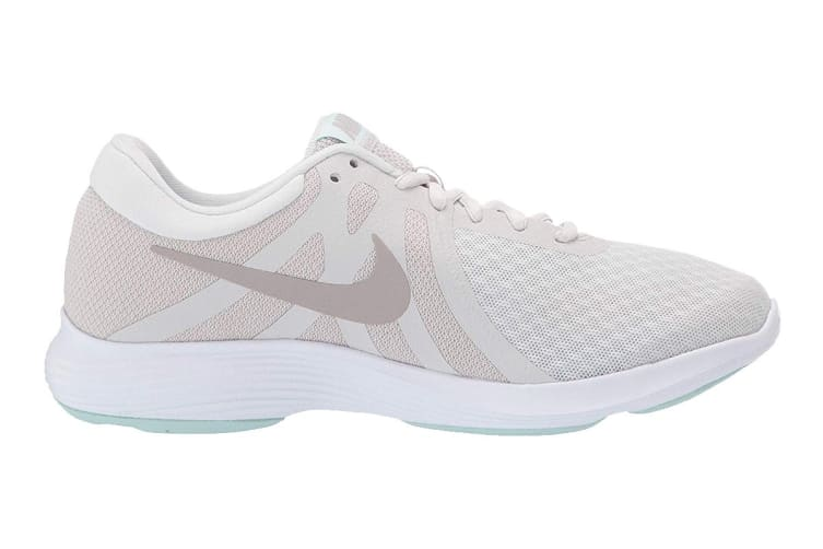 Nike Women's Revolution 4 Running Shoe (White, Size 7.5 US)