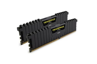 Corsair Vengeance LPX 8GB (2x4GB) DDR4 2666MHz C16 Desktop Gaming Memory Black