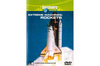 Extreme Machines Rockets -Educational Rare- Aus Stock DVD NEW