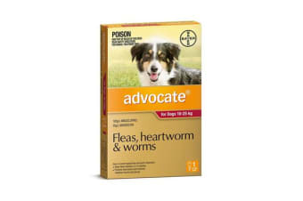 Advocate Dog Large Red - 3p