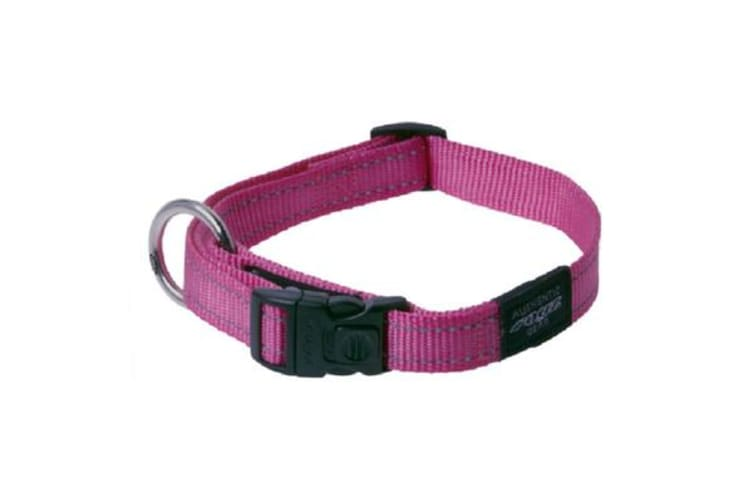 Rogz Dog Collar Pink - XL