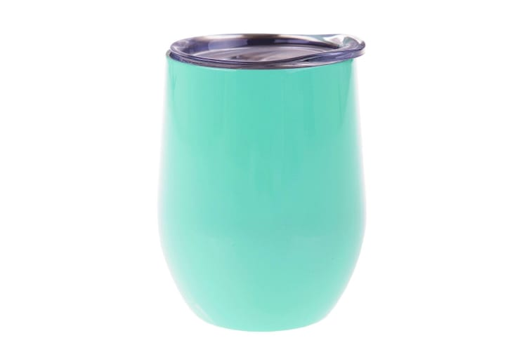 Oasis Double Wall Insulated Wine Tumblers 330ml - Spearmint