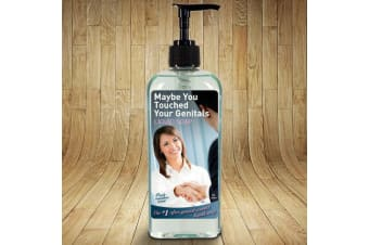 Maybe You Touched Your Genitals Hand Soap