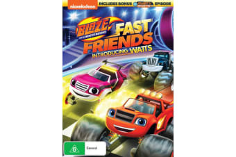 Blaze and the Monster Machines Fast Friends DVD Region 4