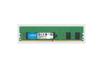 Crucial 8GB DDR4 2933 MT/s (PC4-23400) CL21 SR x8 ECC Registered DIMM 288pin