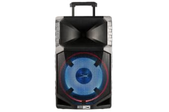 Altec Lansing Thunder 15 500W PA Active Speaker Portable Audio w/Mic/Stand Black