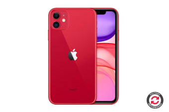 Refurbished Apple iPhone 11 (128GB, (PRODUCT)RED)