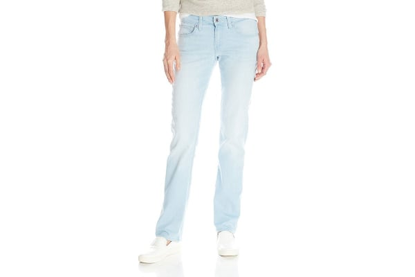Levi's 518 Juniors Straight Fit Jeans - Farmer's Blue (Size 5)