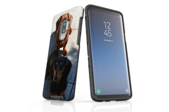 For Samsung Galaxy S9+ Plus Case Armour Cover  A Couple of Sausages
