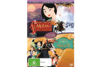 Mulan (1998) / Mulan 2 (2 Full-Length Disney Movies)