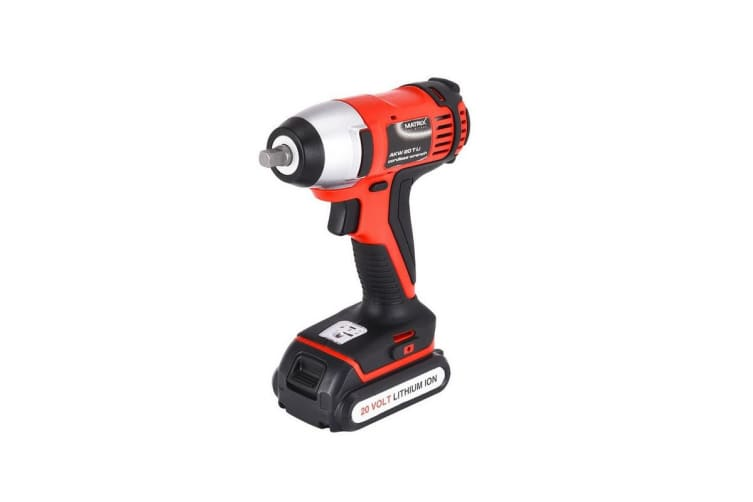 Matrix Power Tools 20V Cordless Brushed Impact Wrench Skin Only NO Battery Charger