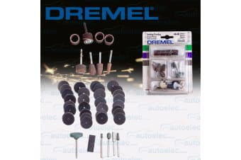 DREMEL 44 PIECE ROTARY MULTI TOOL SANDING GRINDING GRINDER ACCESSORY KIT 626