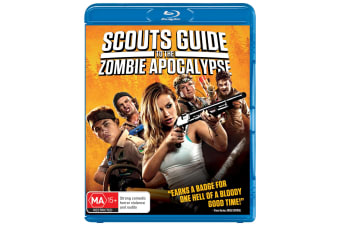 Scouts Guide to the Zombie Apocalypse Blu-ray Region B
