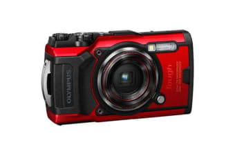 New Olympus TOUGH TG-6 12MP Digital Camera Red (FREE DELIVERY + 1 YEAR AU WARRANTY)
