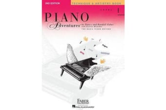 Piano Adventures - Level 1 - Technique & Artistry Book (2nd Edition)