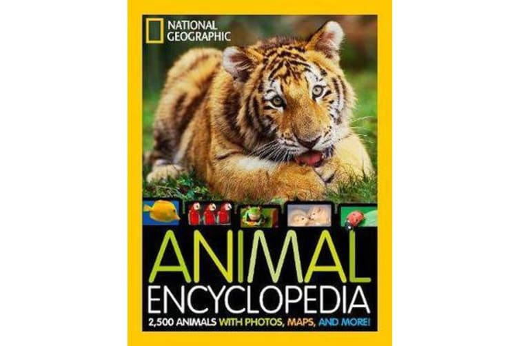 Animal Encyclopedia - 2,500 Animals with Photos, Maps, and More!