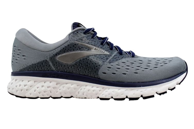 Brooks Men's Glycerin 16 (Grey/Navy/Black, Size 11)