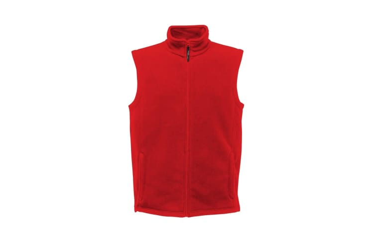 Regatta Mens Micro Fleece Bodywarmer / Gilet (Classic Red) (M)