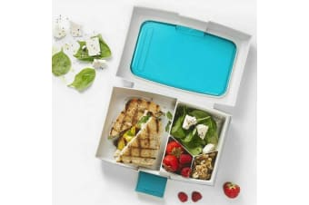 Bento Lunch Box Kids Leakproof Food Container School Picnic Blue